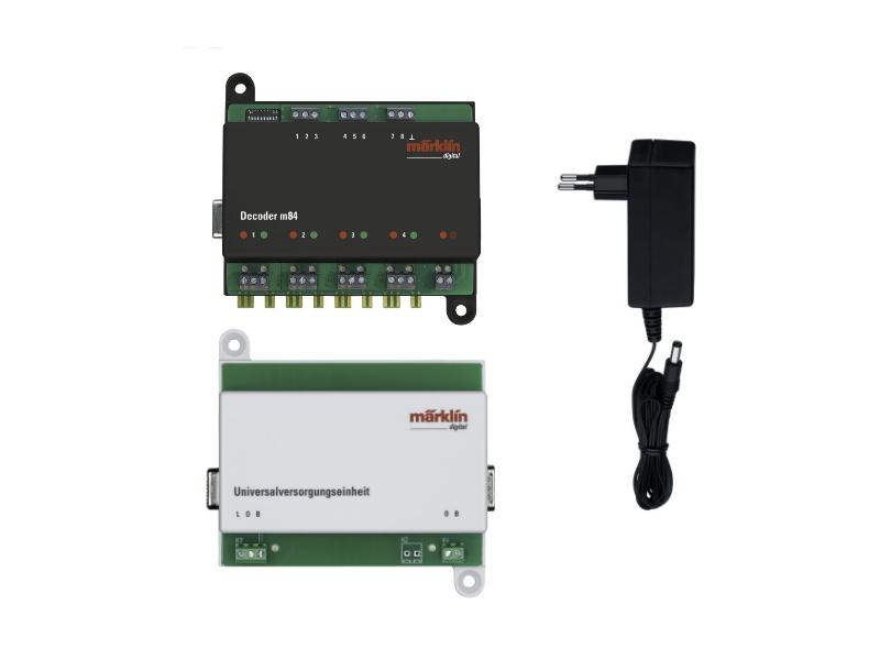 Decoder m84 Einstiegsset mit Netzeil & Versorgungseinheit