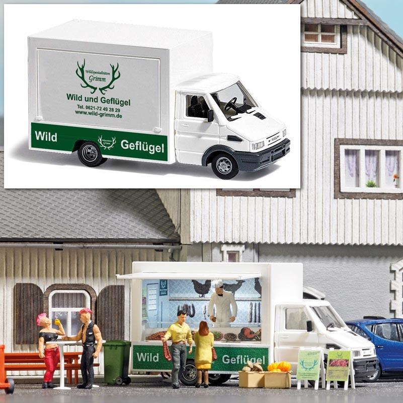 Verkaufswagen »Wild & Geflügel«, Spur H0