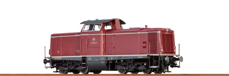 Diesellok BR 211 der DB, IV, AC Digital BASIC+, H0
