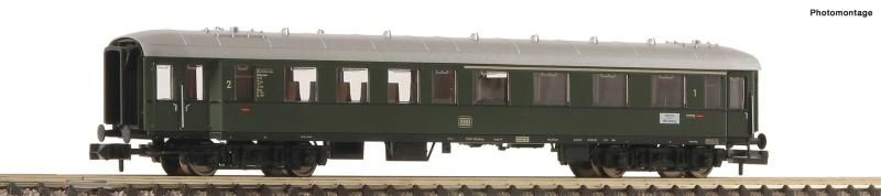 Eilzugwagen 1./2. Klasse der DB, DC, Spur N