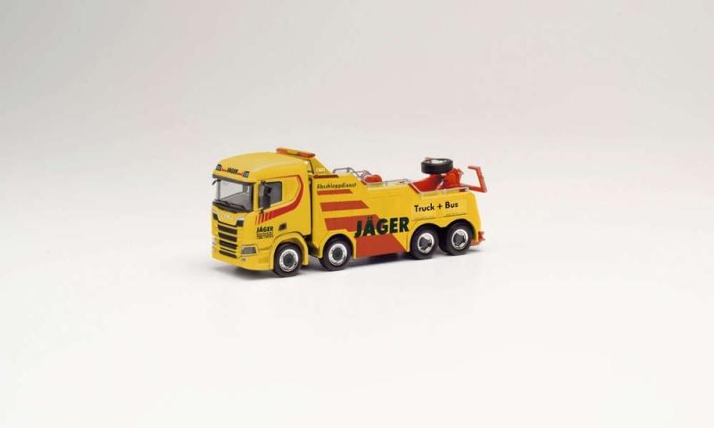 Scania CS Empl Bison, Jäger 1:87 Bergefahrzeug