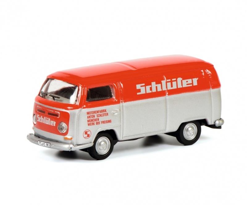 VW T2 SCHLÜTER 1:87 / Spur H0