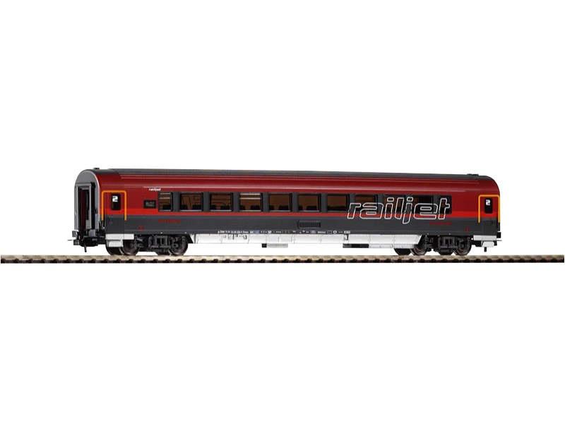 Schnellzugwagen 2. Klasse Railjet, Epoche VI, Spur H0