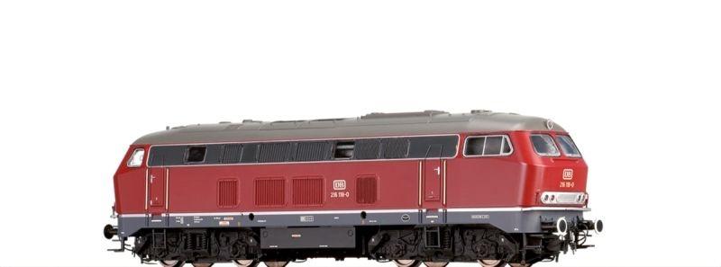 Diesellok 216 DB, IV, DC Analog BASIC+, Spur H0