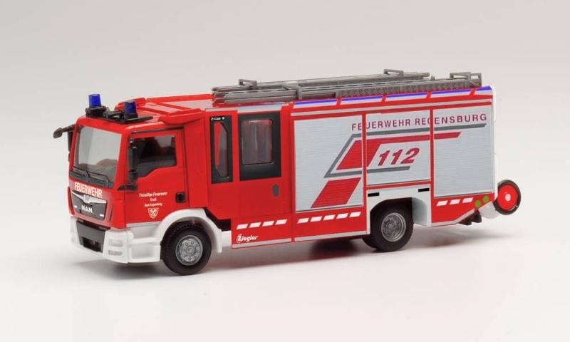 MAN TGM Ziegler Z-Cab Hilfeleistungslöschfahrzeug, 1:87 / H0