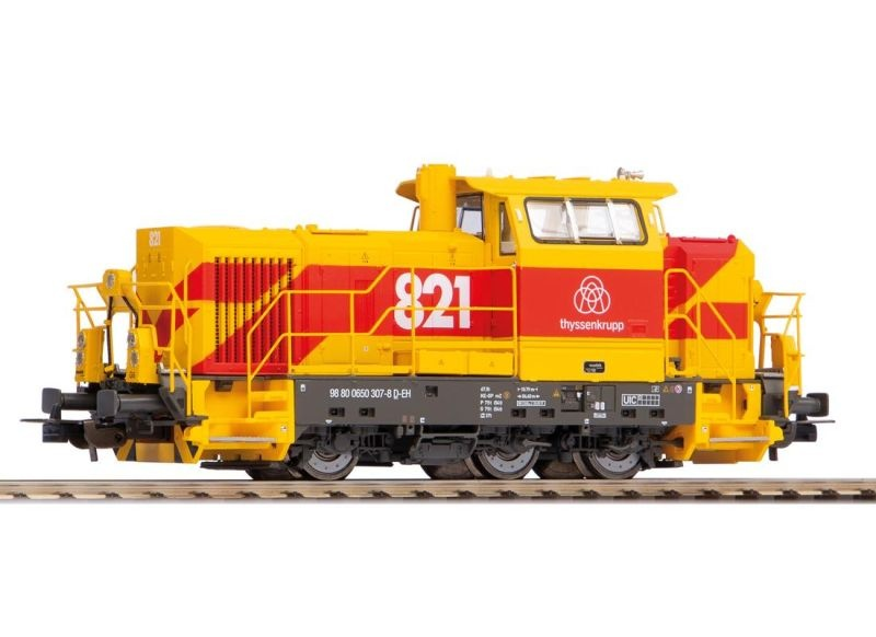 Diesellok G6 thyssenkrupp, Epoche VI, Spur H0