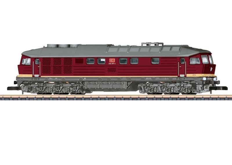 Diesellokomotive Baureihe 232 der DB AG, Spur Z