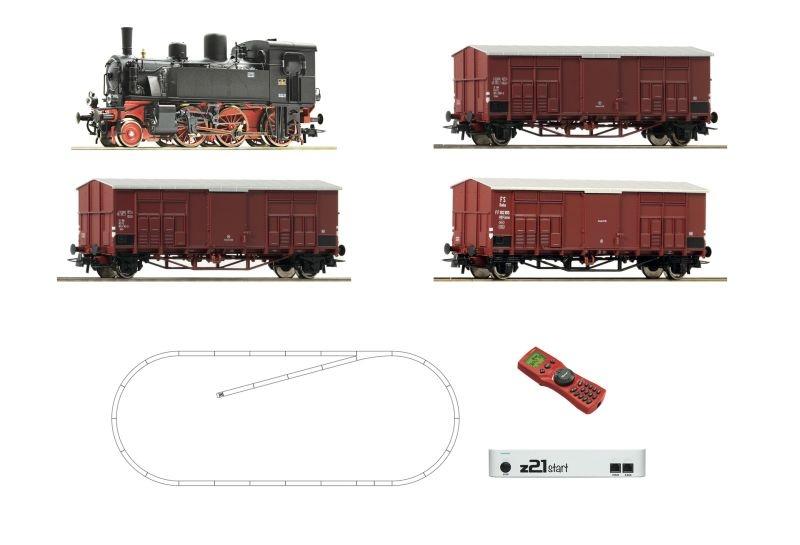 z21 start Digitalset: Dampflok 875 045 mit Güterzug, FS, H0