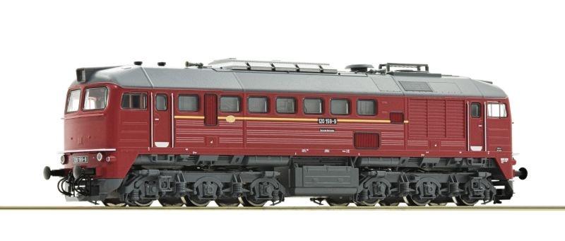 Diesellokomotive BR 120 der DR, Sound, Spur TT
