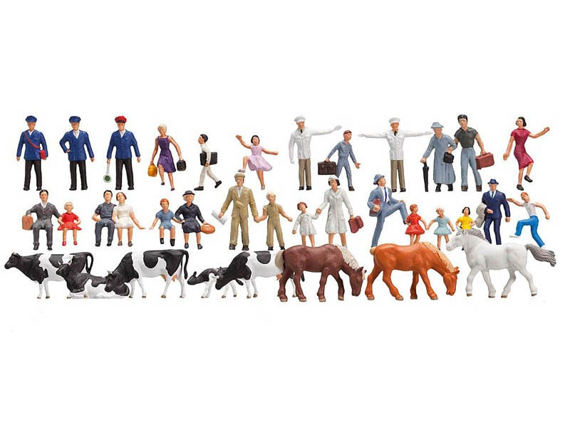 Einsteiger-Set Figuren, 36 Stück H0