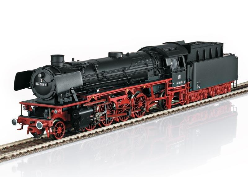 Güterzug-Dampflok BR 041 der DB, Sound, mfx, DC, Spur H0