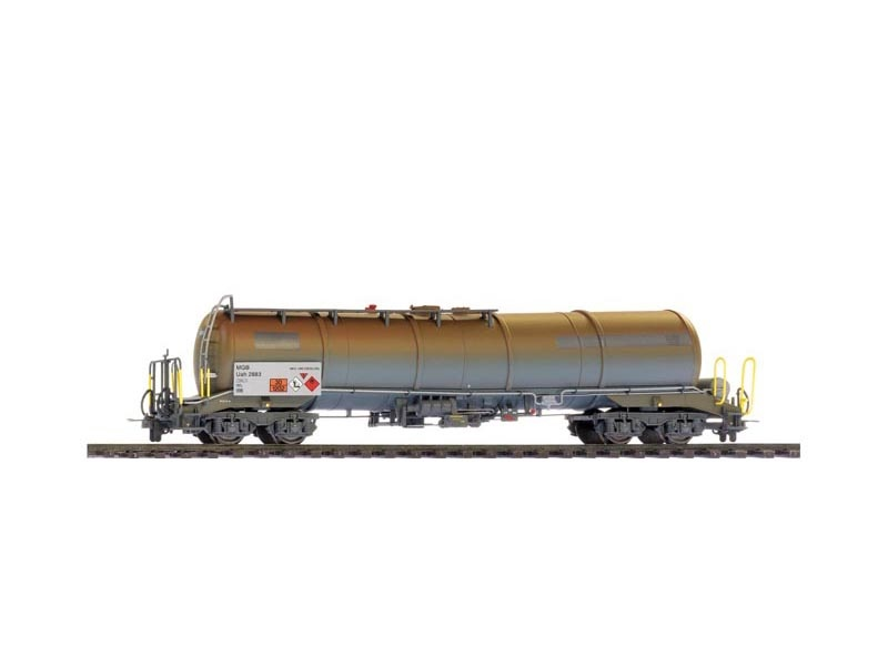 Kesselwagen ex RhB Uah 2881 der MGB, Spur H0m