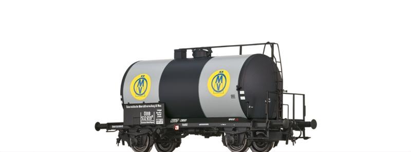 Kesselwagen Z [P] ÖMV der ÖBB, DC, Spur H0