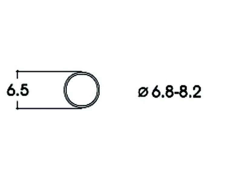 Haftringsatz DC 6,8-8,2 mm H0