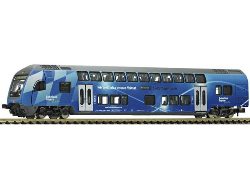 Doppelstock-Steuerwagen 2. Klasse der DB AG, DC, Spur N
