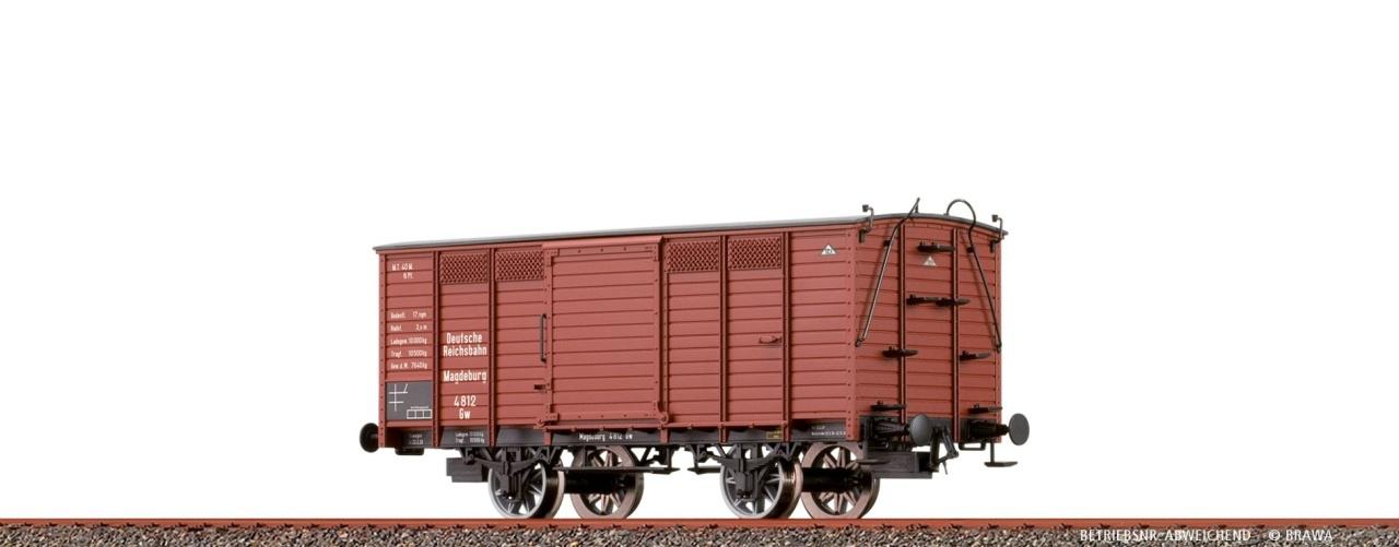 Gedeckter Güterwagen Gw der DRG, DC, Spur H0