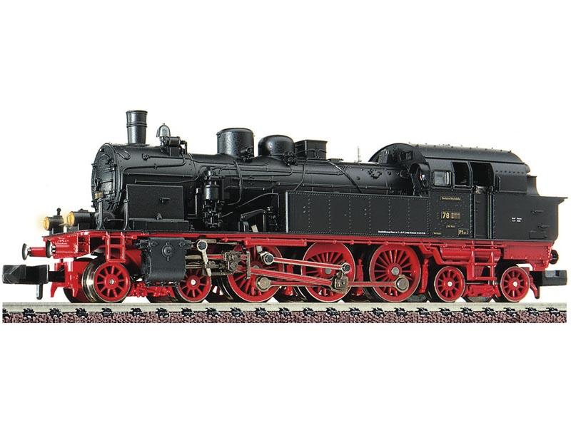 Dampflokomotive BR 78 der DRG, DCC, DC, Spur N