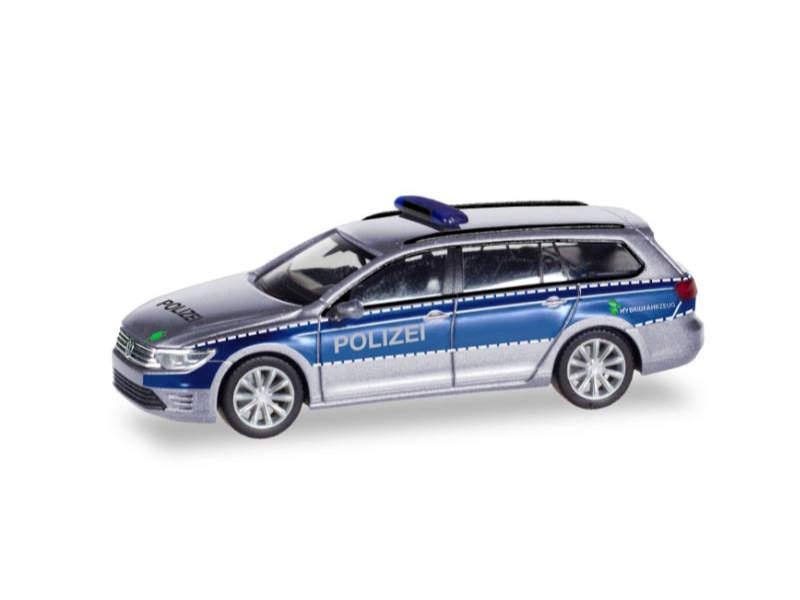 VW Passat Variant GTE Polizei Hamburg 1:87 / H0