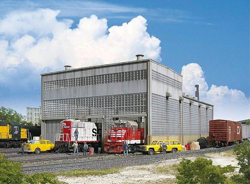 Diesellok-Werkstatt, Bausatz, Spur H0