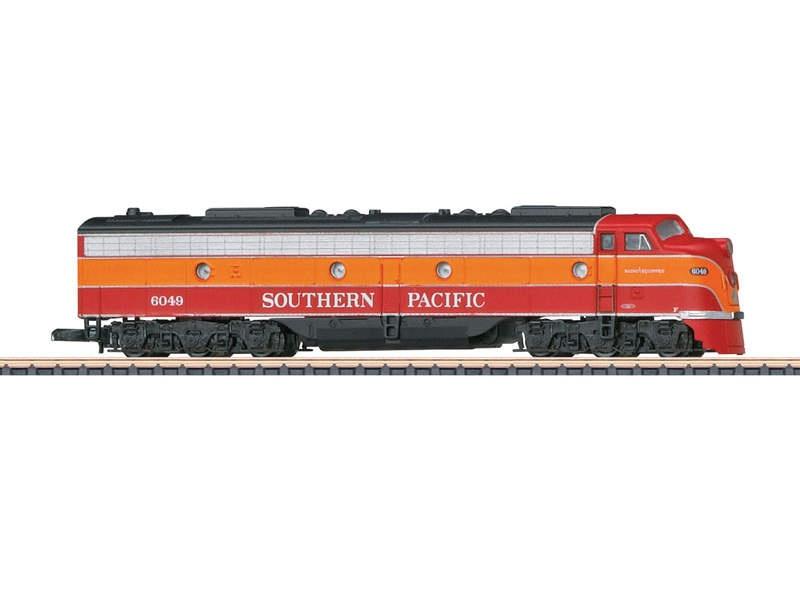 US-dieselelektrische Lokomotive E9A SP Spur Z