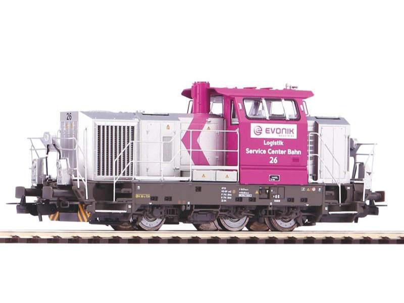 """Neu mit OVP Piko 52655 Diesellok Vossloh G6 /""""Vossloh/"""" der DB AG AC"""