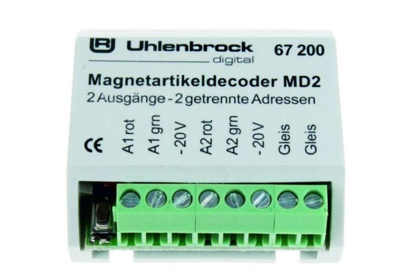 MD2 Magnetartikeldecoder zum Schalten von Weichen & Signalen