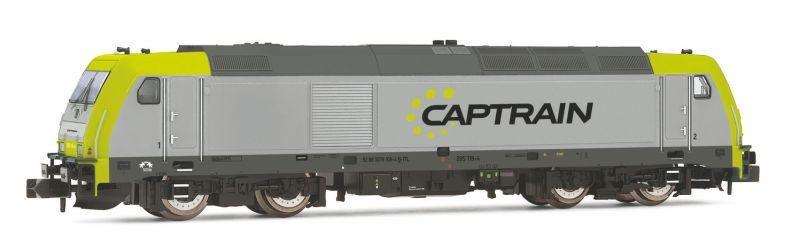 Diesellokomotive Baureihe 285 der Captrain, Spur N