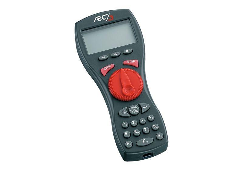 RC3 Funkhandregler, DCC, mfx