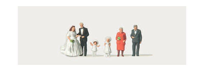 Hochzeit Figuren 1:160 / Spur N
