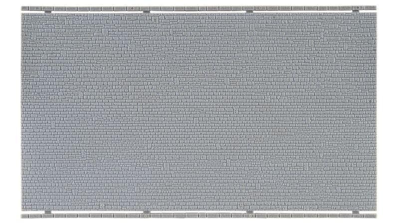 Mauerplatte unregelmäßig, 20 x 12 cm, Spur N