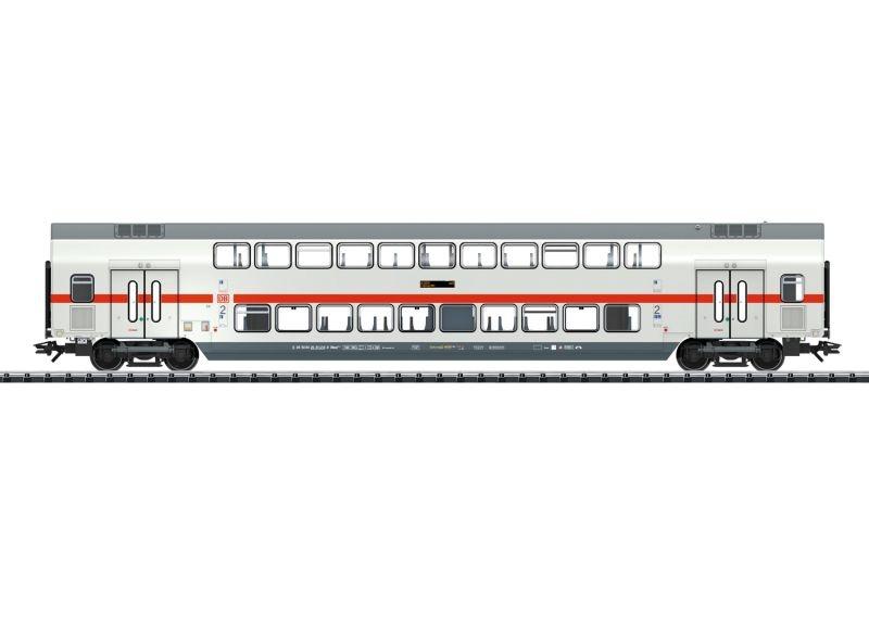 IC2 Doppelstock-Mittelwagen DBpza 682.2 2. Kl. der DB AG, H0