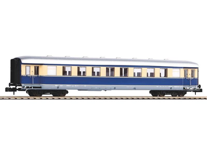 Schürzeneilzugwagen Beigeblau der ÖBB, III, Spur N