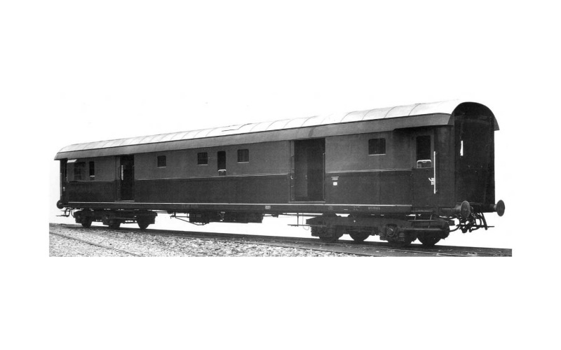 Post-/Gepäckwagen 49 Castano/Isabella, FS, Ep. IV, DC, H0