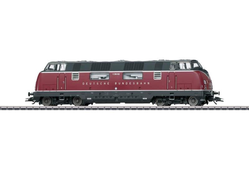 Diesellokomotive V200.0 DB Sound mfx+ H0