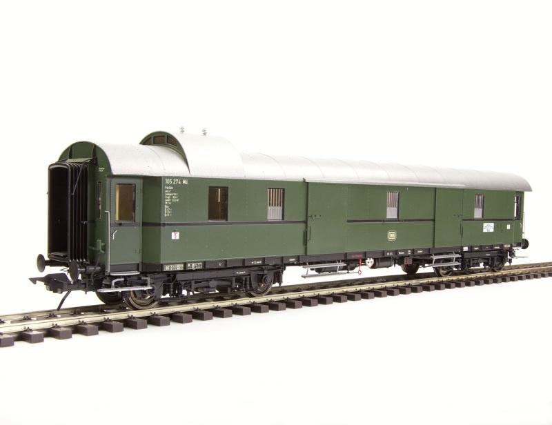 Schnellzuggepäckwagen Gruppe 29, Pw4üe-28, DB, Spur 0