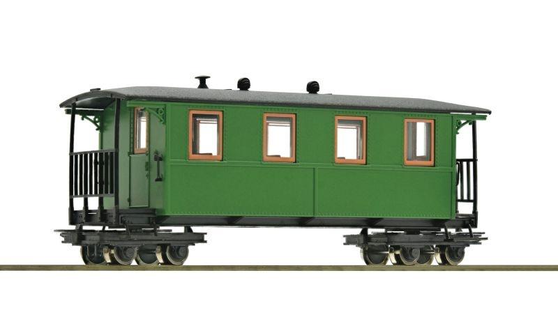 Vierachsiger Waldbahn-Personenwagen, DC, Spur H0e