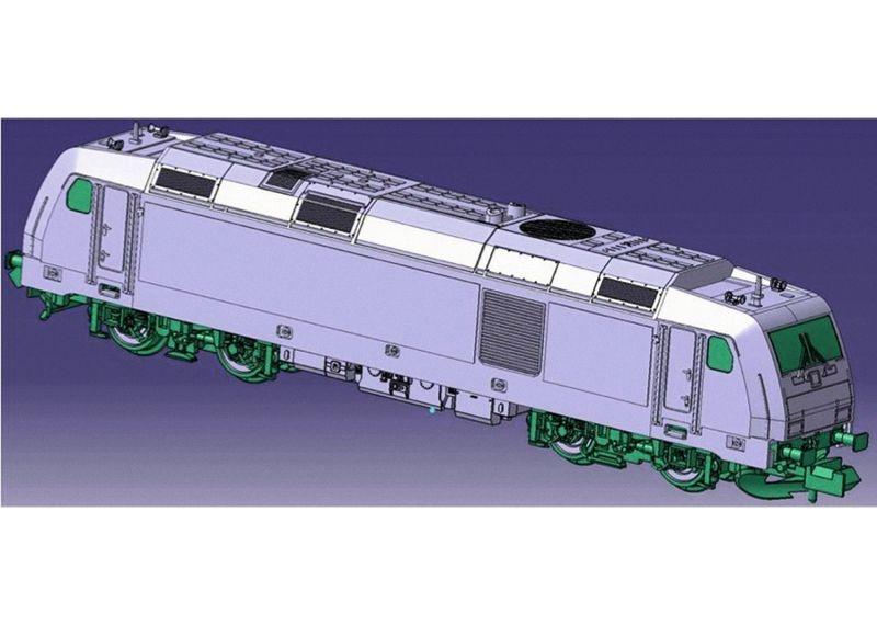 Sound-Diesellok BR 246 der Metronom, Epoche VI, Spur N