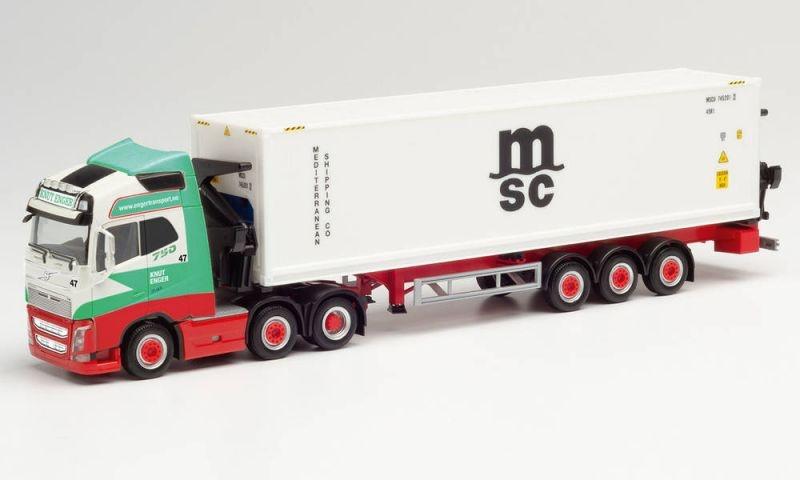 Volvo FH Gl. XL Hammar Container-Seitenlader, H0 / 1:87