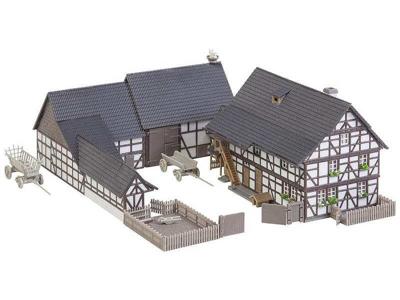 Dreiseit-Hof Bausatz N