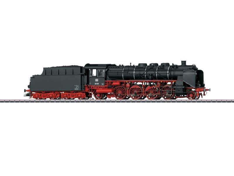 Personenzug-Dampflokokomotive BR 39 DB Sound mfx+ H0