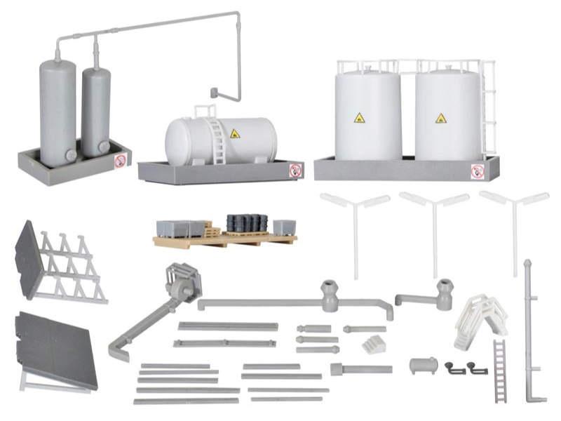 Deko-Set Industrie, Bausatz, Spur Z