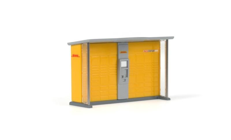 Packstation eckig, 1:87 / H0