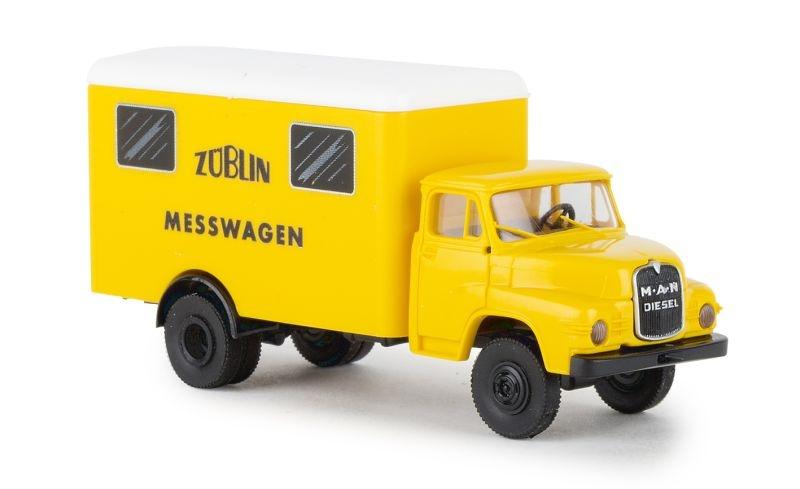 MAN 635 Koffer, Züblin, H0