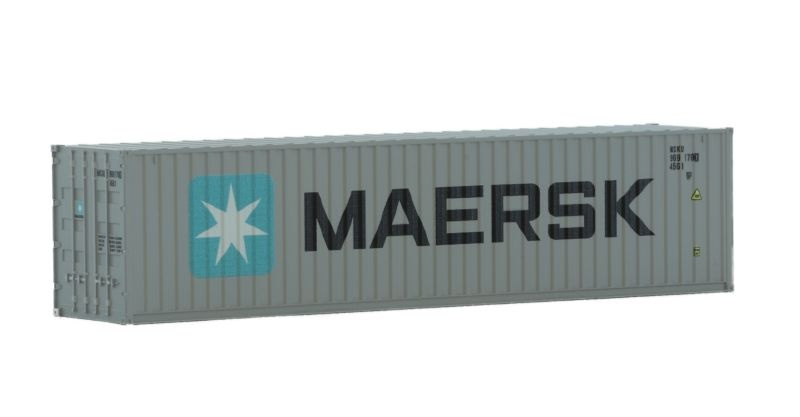 Container 40 Maersk, Ep. VI, H0