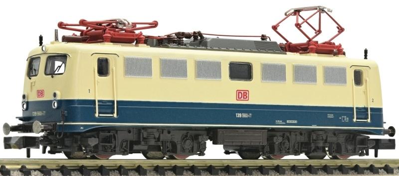 Elektrolokomotive BR 139 der DB AG, Spur N