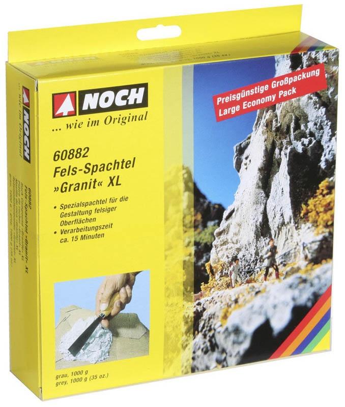 Fels-Spachtel XL Granit grau, 1.000 g
