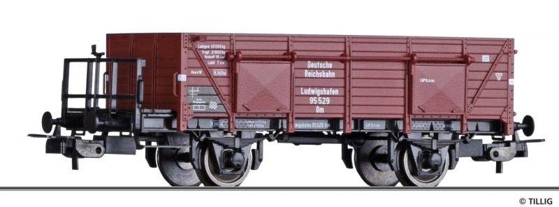 Offener Güterwagen Om Ludwigshafen (TS) der DRG, Spur H0