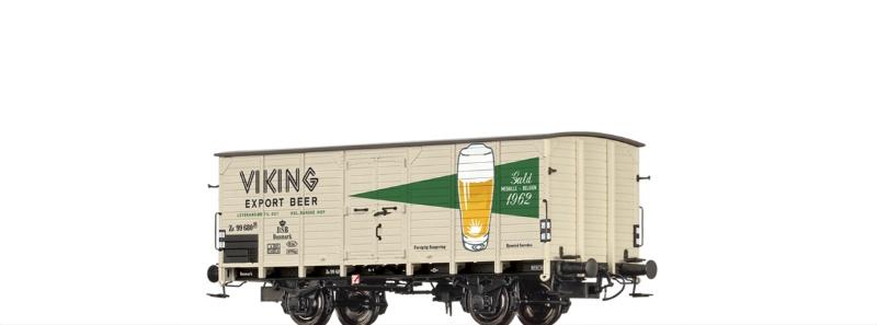 Gedeckter Güterwagen G10 Viking der DSB, DC, Spur H0