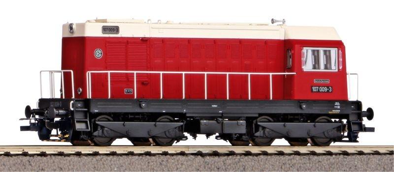 Sound-Diesellok BR 107 der DR mit PIKO Sound-Decoder, DC, H0