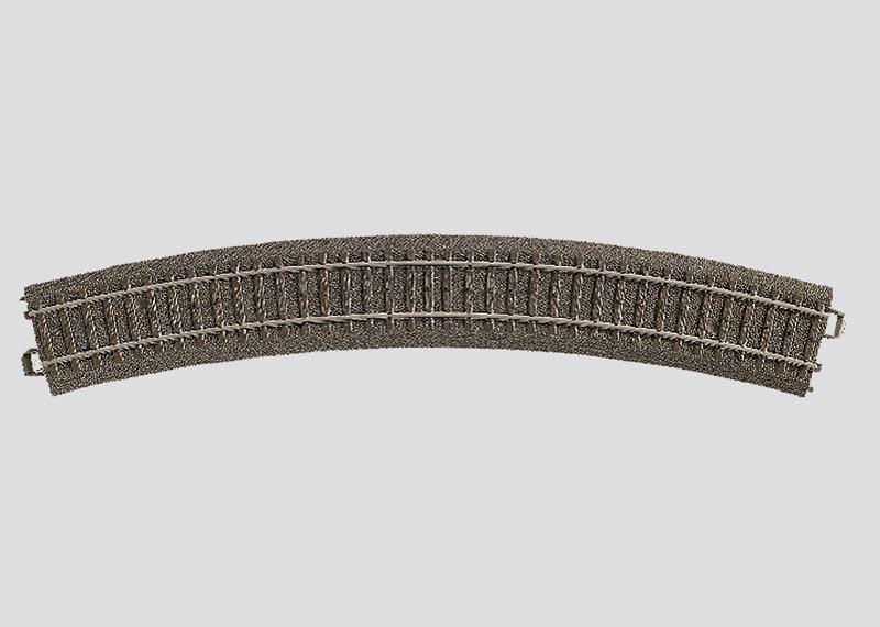 Gebogenes Gleis Radius 3=515 mm 30° Spur H0 C-Gleis